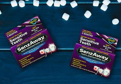 2 Free Samples of SenzAway® Dental Care