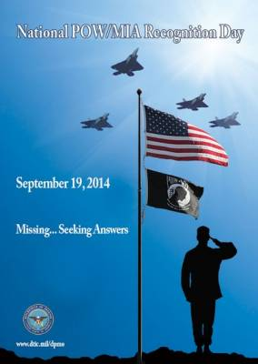 2014 National POW/MIA Recognition Day posters