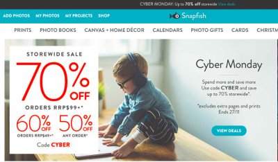50% off on any order at snapfish.co.nz!