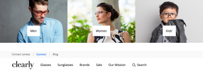 50% off lenses at clearly.co.nz!