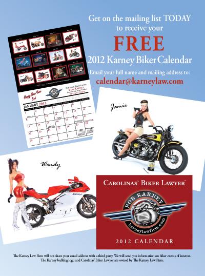 FREE 2012 Karney Biker Calendar