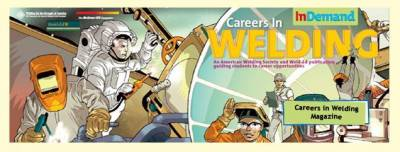 FREE Copies of Welding Careers Magazine and DVD