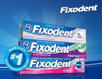 Possible Free Sample of Fixodent and a $1-off coupon