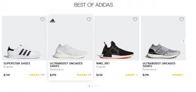 Adidas 30% off Selected Items with Free Shipping