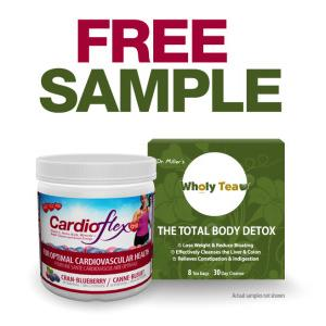 CardioFlex or Wholly Tea Sample