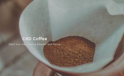 CBD Ground Coffee Sample
