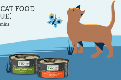 Coupon - 2 Free Cans of natures logic Cat Food