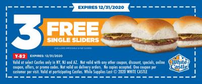 Coupon - 3 Free Single Sliders