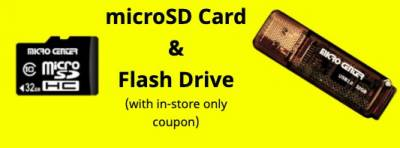 Coupon - Free 32GB Flash Card
