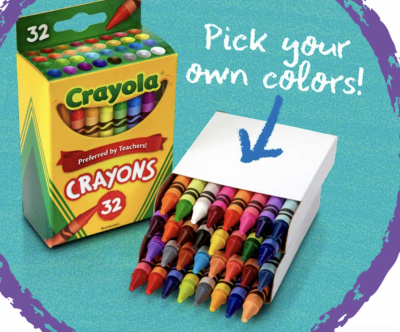 Coupon - Free Box of Crayons at crayola experience