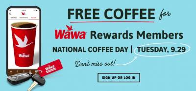 Coupon - Free Coffee at Wawa