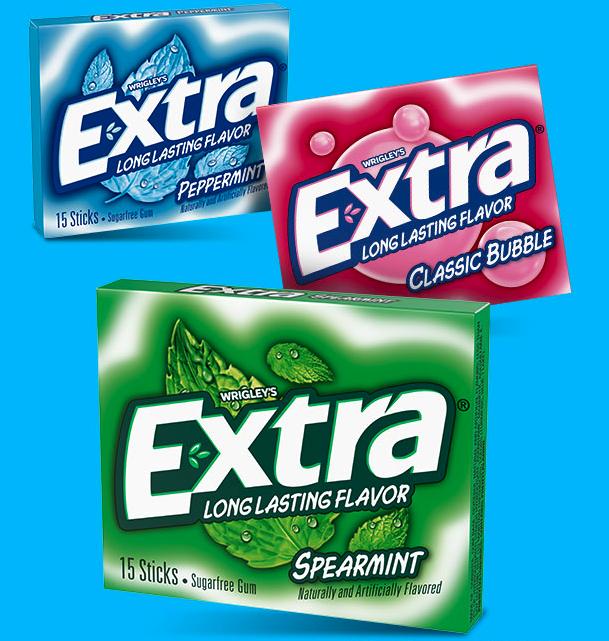 Coupon - Free Sample of Extra Gum at Walmart