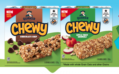 Coupon - free sample of Quaker Chewy® granola bars!