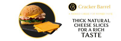 Cracker Barrel Black Ribbon Sliced Cheese