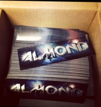 DJ Almond: Email to Request Free Stickers