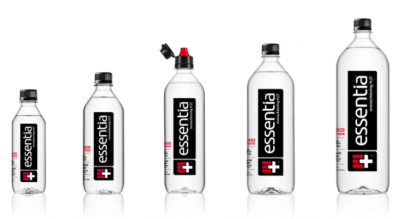 Essentia Water coupons and stickers