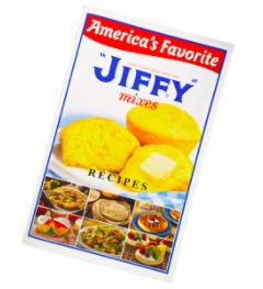 "Free ""JIFFY"" Mix Recipe Book."