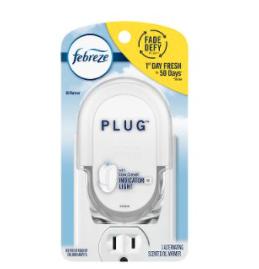 Free 1 Febreze Plug Warmer