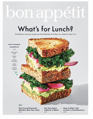 Free 1-Year Subscription to Bon Appétit Magazine