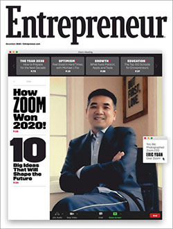 Free 1-Year Subscription to Entrepreneur Magazine!