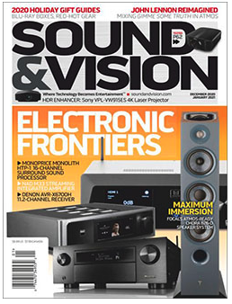 Free 1-Year Subscription to Sound & Vision Magazine!