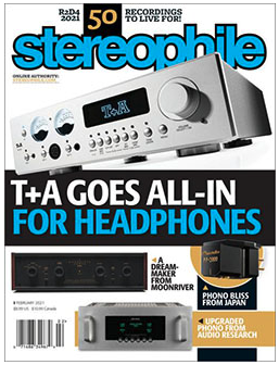 Free 1-Year Subscription to Stereophile Magazine