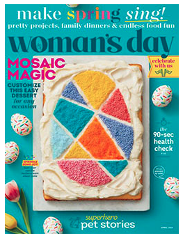 Free 2-Year Subscription to Woman's Day Magazine!