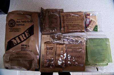 Sign up: Free $200 for Eating Military MREs- Mass residents