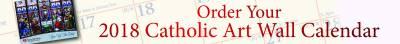 Request Free 2018 Heart of the Nation Catholic Art Calendar