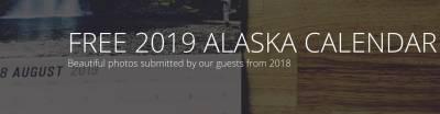 FREE 2019 ALASKA CALENDAR
