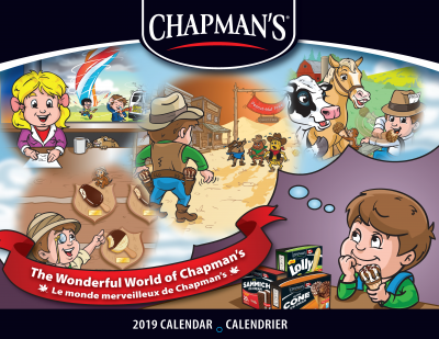 FREE 2019 CHAPMANS CALENDAR