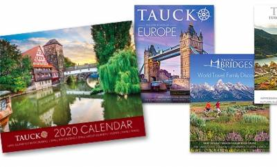 Free 2020 Calendar from Tauck's travel