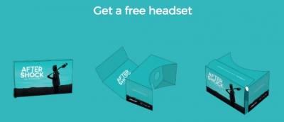 Free AfterShock VR Headset