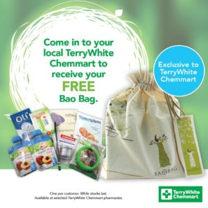 Sign up: Free Bao Bag with Baby Product Samples