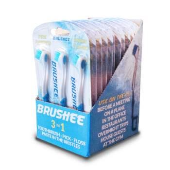 Sign up: Free Brushee Pocket Sized Toothbrush