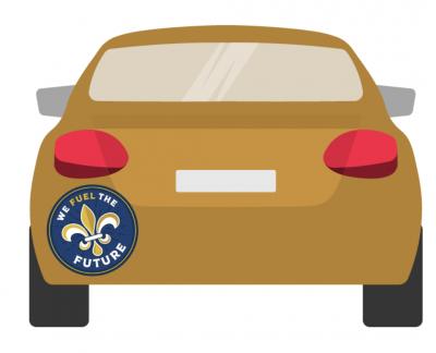 Free Bumper Sticker - We Fuel the Future