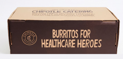 FREE BURRITOS FOR HEALTHCARE HEROES at Chipotle