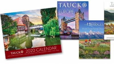 Free Calendar and Welcome Pack from Tauck's travel