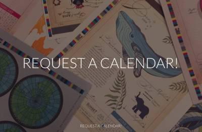Free Calendar from Sunset Printers
