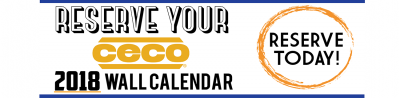 Sign up: Free CECO Texas Sized 2018 Wall Calendar