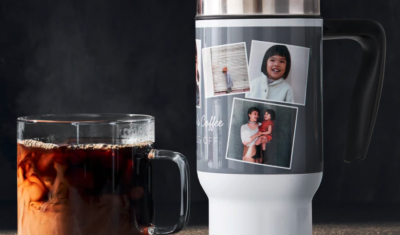 Free Coffee and Free Travel Mug