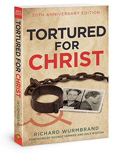 FREE COPY OF Tortured for Christ