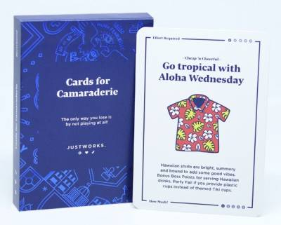Free deck of Cards for Camaraderie