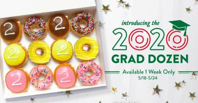 Free Donuts for 2020 Graduates