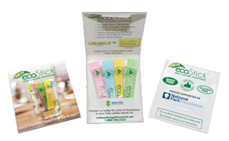 Request Free ecoStick Sweeteners For Businesses