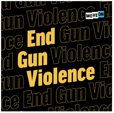 "free ""End Gun Violence"" sticker!"