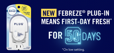 Free Febreze Plug In
