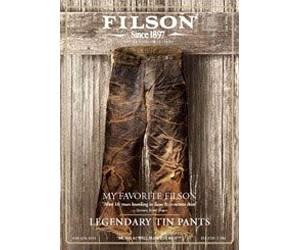 Request Free Filson Catalog