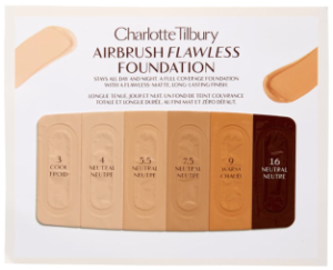 Free Flawless Foundation Sample Card