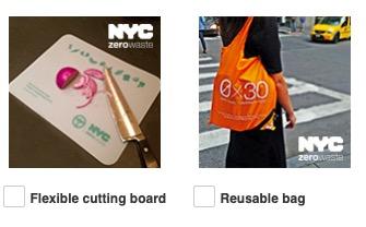 Free Flexible cutting board or Reusable Bag